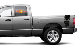 Dodge Ram 1500 2500 3500 Decal Sticker Vinyl Graphic Truck Bed Side Stripes
