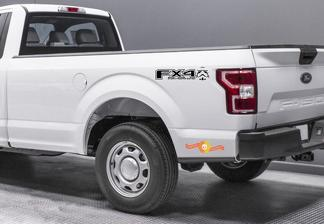 2015-2019 Ford F150 f250 FX4 Off Road Decals - Offroad Stickers Truck Bed Side