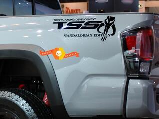 TSS Mandalorian Edition Offroad Racing Vinyl Aufkleber Aufkleber für Toyota Tacoma Tundra