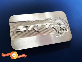 SRT Supercharger Hellcat Metal Aluminum Badge Nameplate Emblem 68227674AB