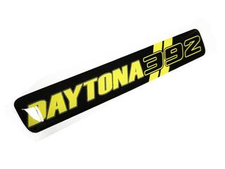 One Steering Wheel Yellow Daytona 392 Challenger Charger emblem domed decal