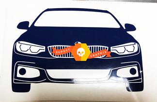 BMW 3 4 F30 F32 F33 F36 Bayerische Motoren Werke AG Decal Sticker