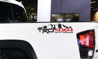Berge 4x4 Offroad Sport Pro für Toyota Tundra Tacoma FJ Cruiser 4Runner Decals