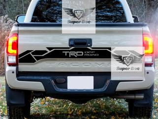 Tailgate TRD 4x4 PRO Sport Off Road Racing Development Vinyl Stickers Decal fit to Tacoma 16-20