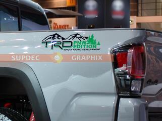 TRD Mountains PNW Edition für Toyota Tundra Tacoma FJ Cruiser 4Runner Vinyl Aufkleber Aufkleber