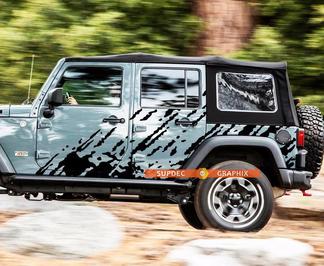 Schlamm SPLASH GRAPHICS UNIVERSAL Aufkleber Aufkleber für LKWs Jeep Wrangler Toyota FJ Cruiser etc.