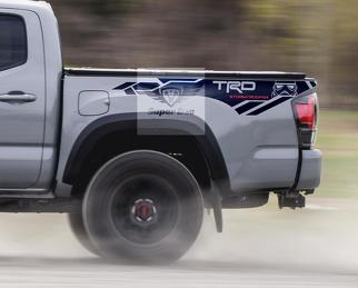 TRD 4x4 PRO Sport Off Road Stormtrooper Side Vinyl Stickers Decal fit to Toyota Tacoma 13-2020 or Tundra 13- 2020