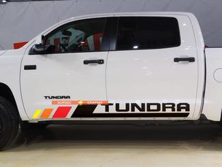Tundra Vintage Bett Streifen Vinyl Aufkleber Aufkleber Kit für Toyota Tundra Rocker Panel Step Style 2