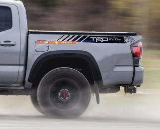 TRD 4x4 Off Road Winter kommt in der kommenden Ausgabe Side Vinyl Stickers Decal passend für Tacoma 2013 - 2020 oder Tundra 2016 - 2020