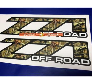 Z71 camo tree off road Decals Stickers Vinyl fits to Chevy Z71 GMC