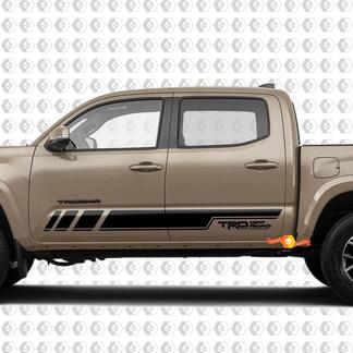 Stripes for Tacoma Side Rocker Panel Vinyl Stickers Decal fit to Toyota Tacoma TRD Off Road Pro Sport