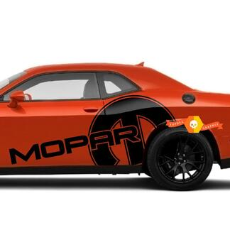Dodge Mopar Huge Graphic Side Decal Sticker for Both Sides Dodge Chalenger Charger