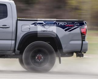 TRD Trout Edition 4x4 PRO Sport Offroad-Vinyl-Aufkleber Aufkleber passend für Tacoma 2013 - 2020 oder Tundra 2013 - 2020