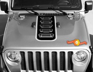 Jeep Jt Gladiator Drie O Five (305) Editie Evolutie van Jeep Gladiator Vinyl Decal