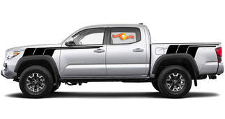 Kits of Toyota Tundra TRD Back To The Future all black retro vintage stripe kit Sport 4x4 Off Road PRO decal