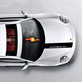 Hood Capot Porsche Carrera GT Stripes Kit Decal Sticker