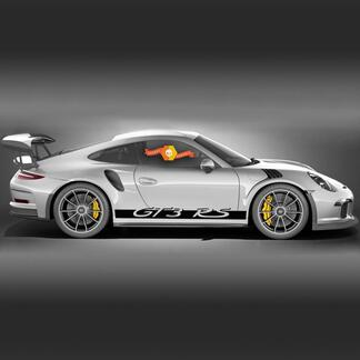 Porsche 911 - 991 Gt3 RS GT3RS Side Stripes Kit Decal Sticker