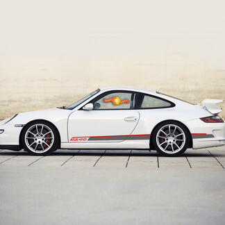 Porsche 911 - 991 RS 4.0 Side Stripes Kit Decal Sticker