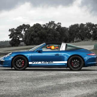 Porsche 911 Targa Side Stripes Kit Decal Sticker