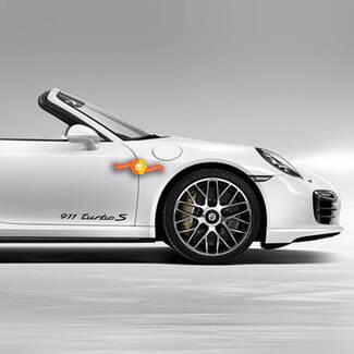 Porsche Stickers Porsche 911 Turbo Signature Side Decal Sticker