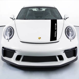 Porsche 991 gt3 Stickers Hood Stripes Decal Sticker