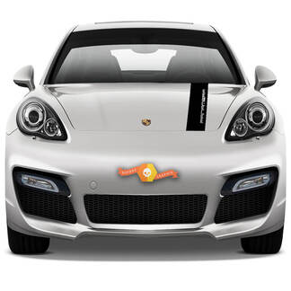 Porsche Рanamera Stickers Hood Stripes Decal Sticker