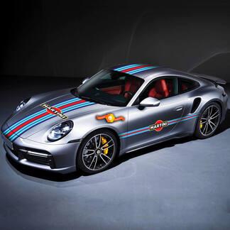 Porsche Full kit Martin Side Stripes Kit Decal Sticker