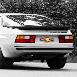 Porsche Stickers Porsche 924 Side Decal Sticker