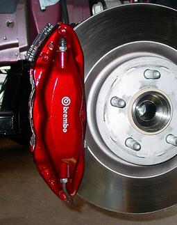 6 x Brembo Stickers Logo Brake Caliper Vinyl Decals Stickers