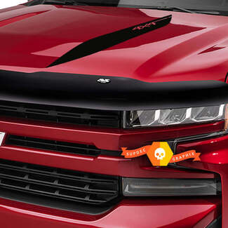 2019 2020 Chevy Silverado Stripes Decals 1500 HOOD SPIKES Spear Vinyl Graphic