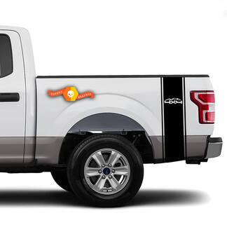 4x4 Berge Rennfahrer Bed Side Stripes Truck Aufkleber - Passend für Ram Chevy Ford Jeep Gladiator