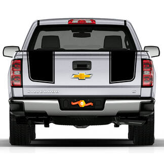 Z71 2007- 2013 Chevy Silverado Tailgate Stripe Decals Rally 2 Styles 2500