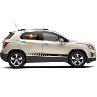 Chevy Trax Side Stripe Graphic Decal door line decal graphics