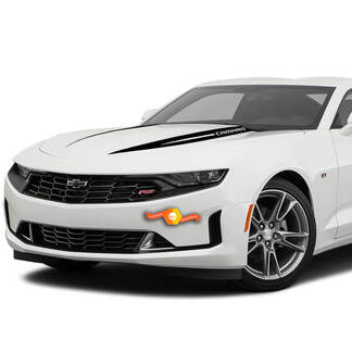 2X Chevrolet Camaro Hood Widow Spike Decal Fits: 2019 - 2020 Chevrolet Camaro Chevy Graphics Stripes Decals