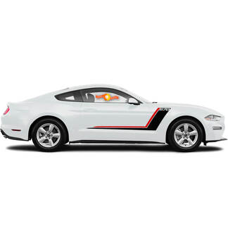 New ford mustang accessory stripes graphics decals mustang / like roush stripe