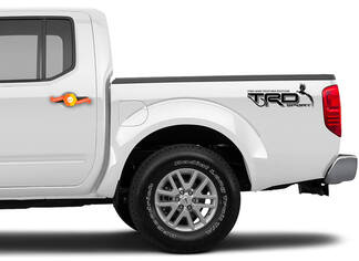 Toyota Trd sport decals stickers off road 4x4 fish and feather edition fishing hunting Tacoma Tundra Racing development set of 2