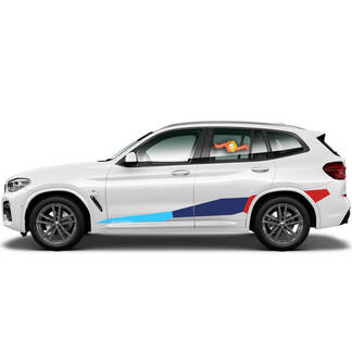 BMW M Power M Performance Huge Side New vinyl decals stickers for BMW G05 G06 X5 X6 series X5M X6M F95 F96