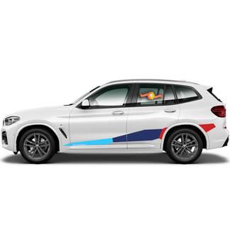 BMW M Power M Prestaties Enorme zijde Nieuwe Vinyl Decals Stickers voor BMW G05 G06 X5 X6 Serie X5M X6M F95 F96
