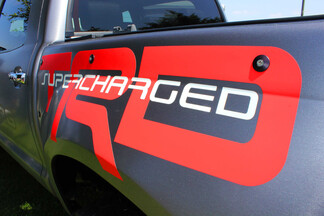 TRD toyota tacoma trd supercharger pickup truck Side Vinyl Stickers Decal fit to Tacoma 2013 - 2020 or Tundra 2013 - 2020