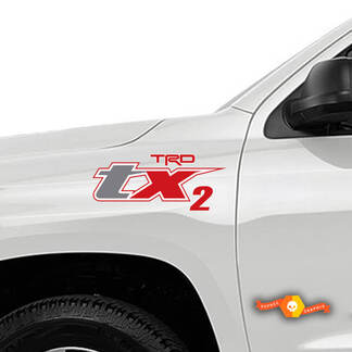 TRD TX2 for Toyota Tacoma Sticker Decals