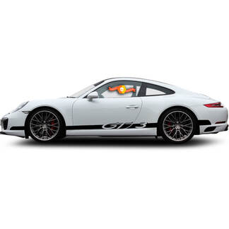 Porsche GT3 Racing Side Stripes For Carrera Side Stripes