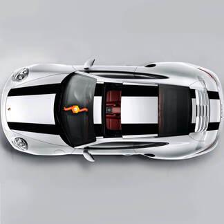 Porsche Racing Side Stripes For Carrera Or Any Porsche Full Kit
