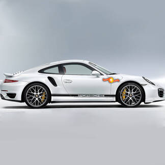 Porsche One Color Side Stripes Side stripes one color Or Any Porsche
