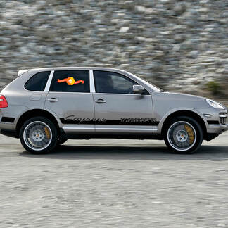 New Porsche Cayenne Transsyberian Side Stripes Kit Decal Sticker