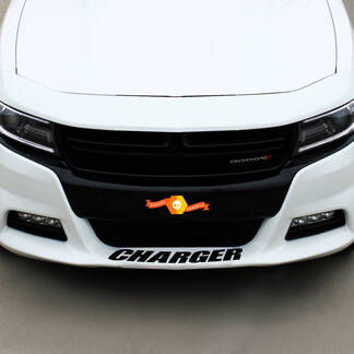 Dodge Charger front Spoiler Decal Sticker graphics fits to all models