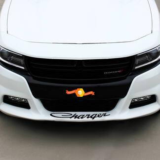 Dodge Charger Retro Front Spoiler Aufkleber Aufkleber Grafiken passt zu allen Modellen