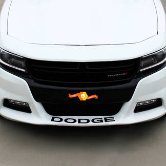 Dodge front Spoiler Decal Sticker graphics fits to all models