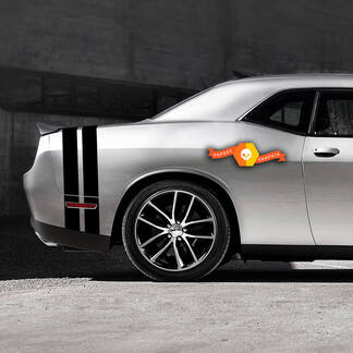 Dodge Challenger Schwanzband Aufkleber Aufkleber Grafiken passt zu Modellen