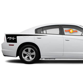 Dodge Charger R/T side Hatchet Stripe Decal Sticker graphics fits to models 2011-2014