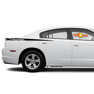 Dodge Charger Retro Decal Sticker Side graphics fits to models 2011-2014